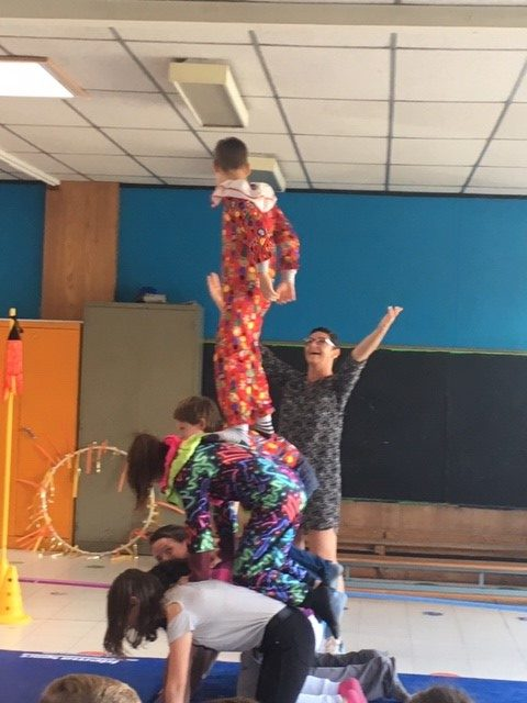 Toonmoment circus