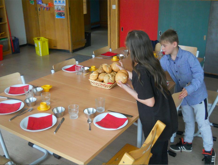 Ontbijt bij meester Pieter