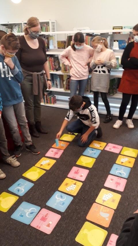 Bibliotheekspel met Leer G en Structuurklas
